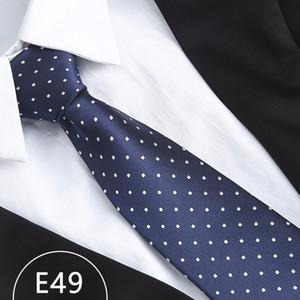 8 cm Erkekler İpek Kravatlar Moda Erkek Boyun Kravatlar El yapımı Düğün Tie İş Kravatlar İngiltere Paisley Tie Stripes Kareli Nokta Kravat