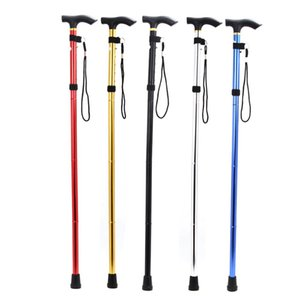 Foldable Walking Trekking Hiking Stick Cane Crutch Alpenstock Adjustable Walking Sticks