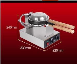 Máquina de fabricantes de waffle de ovo de Hong Kong com certificação CE 220V 110V ovo sopros maker bolha waffle comprar máquina de alta qualidade