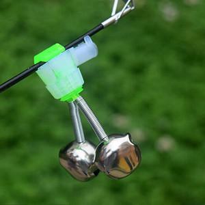 Новые рыболовные принадлежности море удочки колокол набат передач вилка в светящейся палкой небольших спиральных колокольчики для продажи