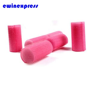 Wholesale- Professional Rollers Hair beauty DIY 32*60mm Sleep In Snooze Hair Rollers Cling soft foam Hair Curlers EB2068