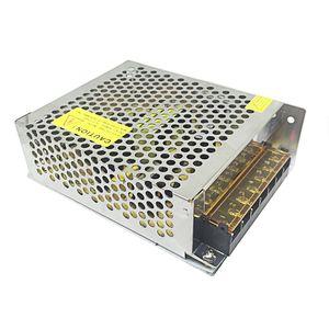 100W DC12V выключатель питания переменного тока в постоянный Светодиодное освещение Transformer Ultra Thin алюминиевый корпус водителя