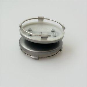 Car Center Hub Caps 60mm الأسود والرمادي مركز عجلة السيارات يغطي لسيارات عجلة يغطي 4B0601170