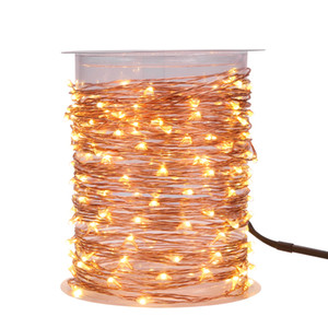 Magicnight 150 Leds 50FT Led Plug in String Starry Light Outdoor Decorative Fairy Lights for Wedding Decoration Warm White 15M