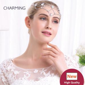 лоб полосы аксессуары для волос Кристалл заколки для волос свадебные аксессуары для волос лучшие оптовые продукты Китай рынок онлайн бесплатная доставка