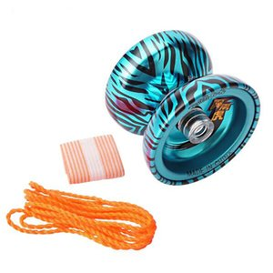 Yoyo metal de alta velocidade rolamentos adereços especiais borboleta yoyo inoperante sono uma embreagem yoyo bola de brinquedo de presente para crianças