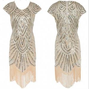 2017 chá de ouro comprimento cocktail vestidos de festa à noite curto com mangas curtas borla v pescoço pista bling formal maxi vestidos de noite desgaste