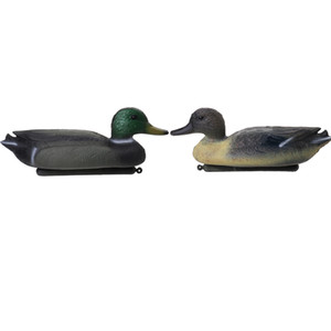 Durable mayor-Pesca Caza Decoy Hombre Plástico Pato Decoy Drake w / flotante quilla para acampar al aire libre de caza táctico Accesorio