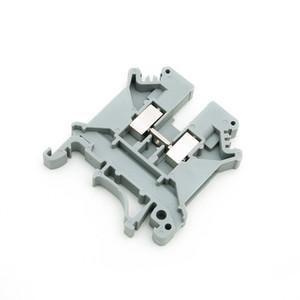 Morsettiera filo 100PCS Connettore in rame puro pezzi di guida tipo UK5N Morsettiera passaparete combinati