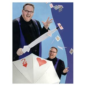 Got It Covered, Carte de parapluie Épée Étape Tours de magie Carte de parapluie Accessoires magiques Porte-parapluie Carte de poker 81128