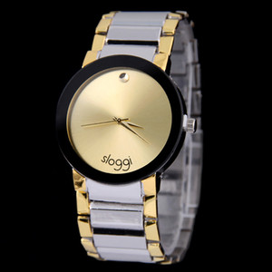 wengle new 2017 fashion quartz Steel belt blank watch