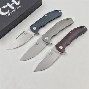 СН 3504 МИНИ новый оригинальный дизайн складной нож D2 лезвие ТС4 полный титановый сплав ручка Складной нож на открытом воздухе