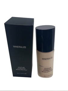 Hot brand Mineralize Moisture Foundation Broao Spectauh Liquid 40ml Waterproof Foundation Free DHL Ship In Stock