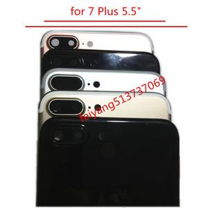 """Eine qualität volle gehäuse rückseitige abdeckung batteriefach mitte rahmen metall ersatzteil für iphone 7 plus 5,5 """""""