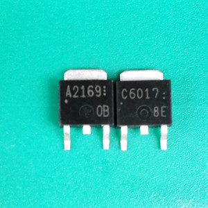 A2169 C6017 2SA2169 2SC6017 A2169 5PCS C6017 5PCS a 252-garantia genuíno unidade impressora tubo qualidade