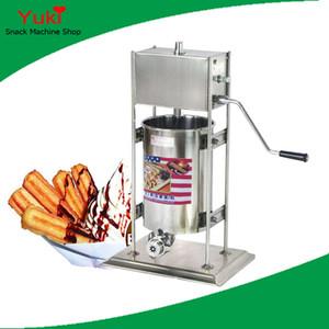Machine de Churro d'acier inoxydable de Spainsh de machine du manuel 10L commercial de Churros de N15 à vendre machine de casse-croûte de l'Espagne
