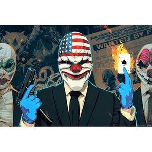 Zahltag Crimewave Clown Voller Bohrer DIY Mosaik Handarbeiten Diamant Malerei Stickerei Kreuzstich Handwerk Kit Wand Home Hanging Decor