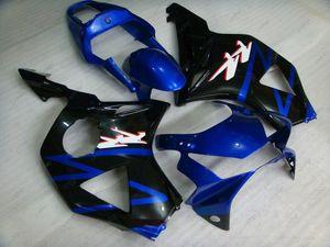 Carénage ABS CBR 954 RR 02 Carrosserie CBR 954RR 2002 Kits de corps noir bleu CBR900 954 2003 2002 - 2003