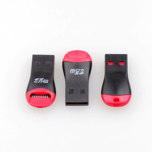 USB 2.0 MicroSD T-Flash TF Memory Card Reader Whistle Style Free Shipping 500pcs lot