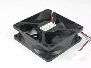 Nidec D08K-24PU 18B (AX) DC 24V 0.13A 3 hilos 3 pines conector 80mm 80X80X25mm Server Square Ventilador de refrigeración
