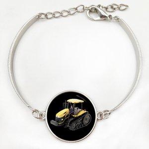 Corrida de marca motor pulseira do vintage GT corrida silhueta arte moto motocicleta esportes homens jóias Carro Avião Trator