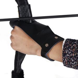 Стрельба из лука тактический Длинный Лук защитные перчатки охота рука протектор гвардии для левой руки лук и стрелы аксессуары