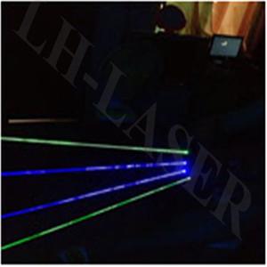 Guanti laser laser di colore verde e blu decorazione festa all'ingrosso guanti led, spettacolo di illuminazione laser all'aperto