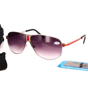 Venta al por mayor Gafas de sol Bifocales Gafas de lectura de precisión de moda Lectores de gafas de sol para Mujeres y Hombres Pesca al aire libre Gafas de sol