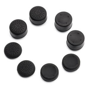 8 X soft silicone thumbstick apertos polegar apertos analógico tampa da tampa da vara para o controlador Playstation 4 PS4