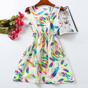 Mulheres dress vestidos de festa renda flor ocasional imprimir boêmio roupas femininas robe femme clothing praia verão dress