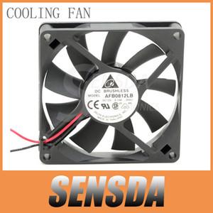 델타 오리지널 AFB0812LB 8cm 80mm 8015 DC 12V 0.14A 서버 인버터 송풍기 축 냉각기 냉각 팬 Manuafactrue Warranty