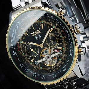 Мужские часы лучший бренд класса люкс JARAGAR мужчины военный Спорт наручные часы автоматические механические часы турбийон relogio masculino