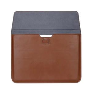 Custodia in pelle premium sacchetto di trasporto per il computer portatile MacBook 12 13 15 pollici Air Pro Retina morbida manicotto protettivo del sacchetto della busta antiurto