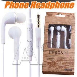 J5 fone de ouvido fone de ouvido para iphone 7 6 samsung s8 plus com microfone na orelha 3.5mm Earbud Heatetset Samsung Galaxy S4 S7 S6