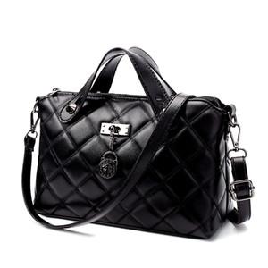 La nuova borsa delle donne di modo del reticolo del diamante, singola borsa del computer portatile del pendio della spalla della signora del sacchetto di modo del sacchetto di spalla