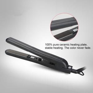 Saf% 100 Seramik 1 inç Saç Düzleştirici PTC Isıtıcı Dail Sıcaklık. Kontrol 220 Derece Santigrat Saç Düz Demir