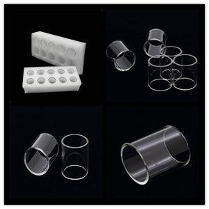 Buharlaştırıcı Pyrex Cam Tüp Temizle E Çiğ Alt Tank Vape Kanger Subtank Artı Mini-C Için Yedek Tüp Toptank Mini Nano Subvod C Atomizörler