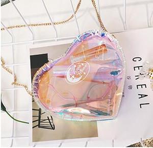 Лето маленькая сумка женский 2017 новая волна лазерная наклонная наклонная сумка мини сумка цепи с бесплатной доставкой