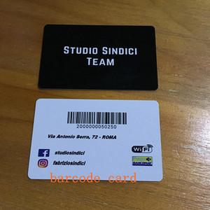 двусторонняя печать визитных карточек ID-карты матовый прозрачный ПВХ жесткий бумажный пакет 200 пользовательских ваш логотип