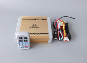 AS820 200W wireless remote police siren car warning alarm with Microphone(without speaker)