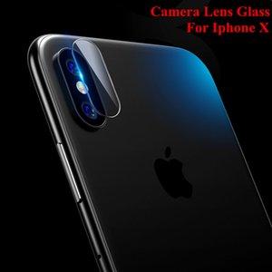 Для iphone X объектив камеры заднего вида гибкий закаленное стекло протектор экрана для iphone 8/8Plus/7 / 7Plus ультра тонкий мягкого волокна защитная пленка