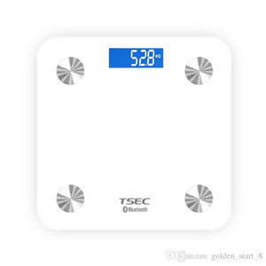 Hot Sale White Mini Smart Scales Household Premium Support Bluetooth APP Fat Percentage Digital Body Fat Weighing Scale