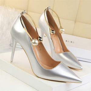versione firmata bigtree scarpe da sposa tacco alto estremo sapato feminino scarpin tacones stiletto da donna pumps donna valentine shoes nero