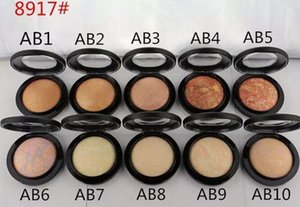10 PCS FREE SHIPPING hot MAKEUP good quality Lowest Best-Selling good sale Mineralize powder 10g $ free gift