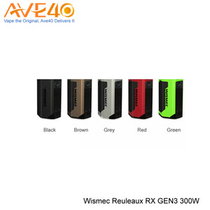 Wismec RX Gen3 Box Mod 300W Max Out Put with Smaller Body Updated Wismec RX200s RX2 3 100% Original fit Ijoy Captain Sub Ohm Tank