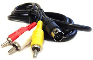 Nuovo cavo di alta qualità per Sega Mega Drive 2 3 per Genesis 2 Stereo AV TV Video Cable Lead RF Replacement