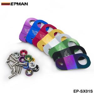EPMAN - Support de radiateur en aluminium Racing pour Honda civic EK / AP / DC à la place de mot de passe: JDM EP-SX01S