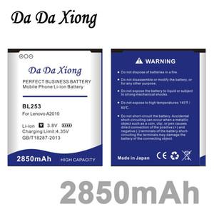 دا دا شيونغ 2850mAh BL253 BL-253 بطارية لينوفو A2010