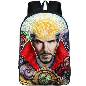 Doutor mochila estranha Benedict cumberbatch mochila mochila de filme Mochila de imagem Saco de escola de desporto Pacote de dia ao ar livre