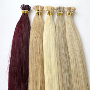 Прочный 2years бразильский кератин волос плоский кончик волос полный кутикулы Реми Индан перуанский малайзийский предварительно связали расширения человеческих волос